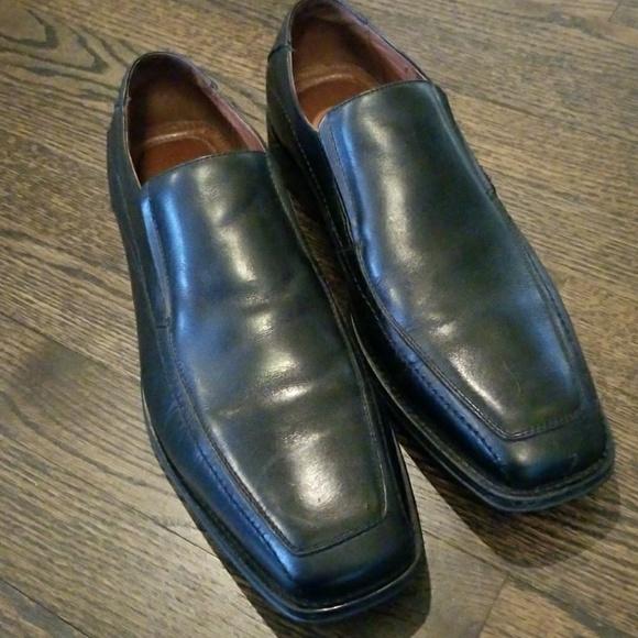 Mens Johnston Murphy Black Dress Shoe Poshmark